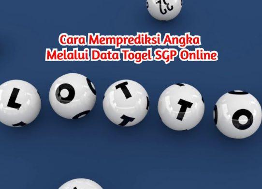 Data Togel SGP